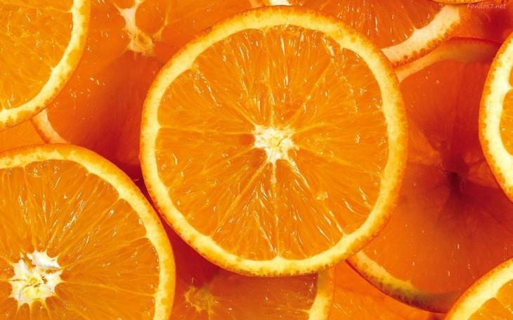 Naranja para evitar la caida de pelo